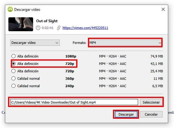 como bajar videos con 4k download