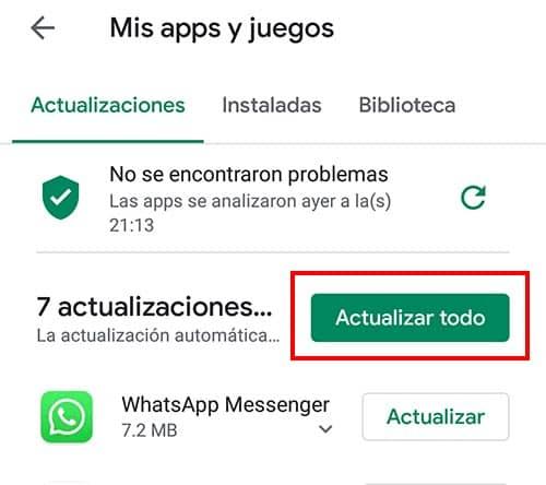 como actualizar netflix en android