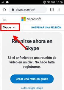 cambiar la contraseña de skype