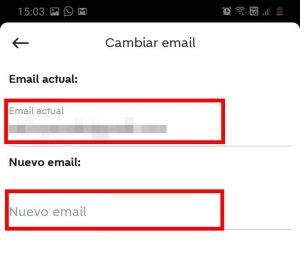 cambiar mail en wallpop