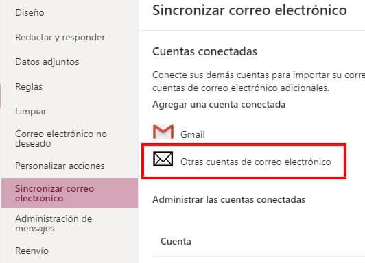 como configurar correo corporativo en outlook