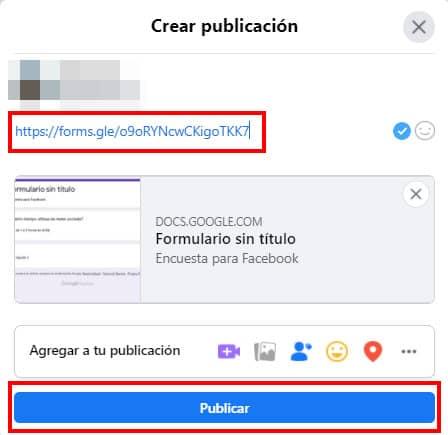 como hacer encuesta para facebook con google