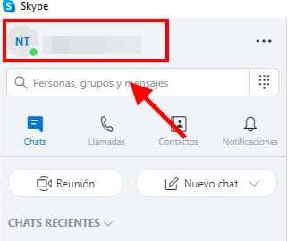 eliminar cuenta de skype