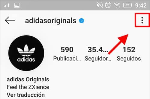 bloquear en instagram