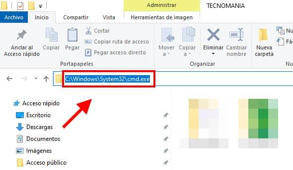 como abrir cmd en windows 10