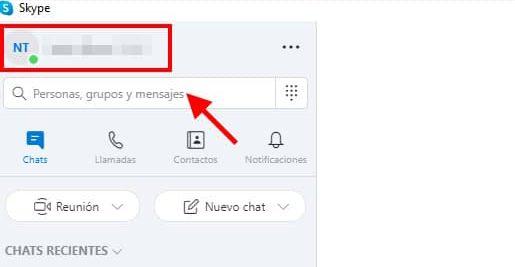 ajustar skype para que no se abra automaticamente