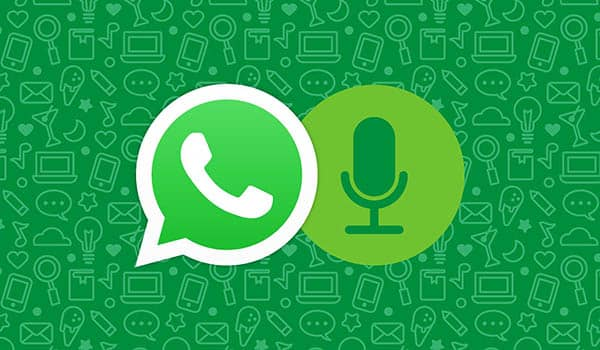 como escribir por voz en whatsapp
