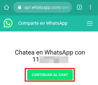 como mandar mensaje anonimo en whatsapp