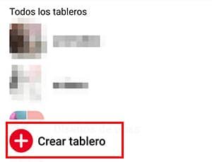 crear tablero