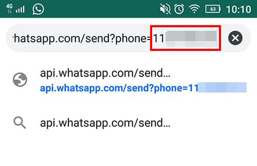 enviar whatsapp anonimo