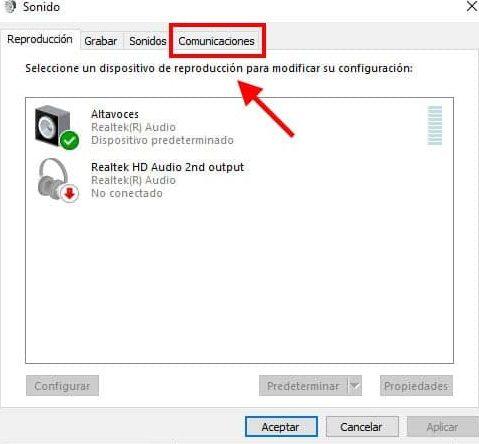 evitar que el volumen se baje en skype