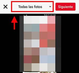 seleccionar foto
