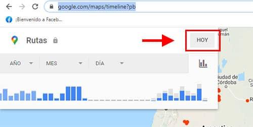 utilizar timeline google