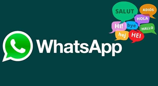 Cómo cambiar el idioma del teclado en WhatsApp en Android