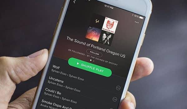 Cómo ver los seguidores de una playlist en Spotify
