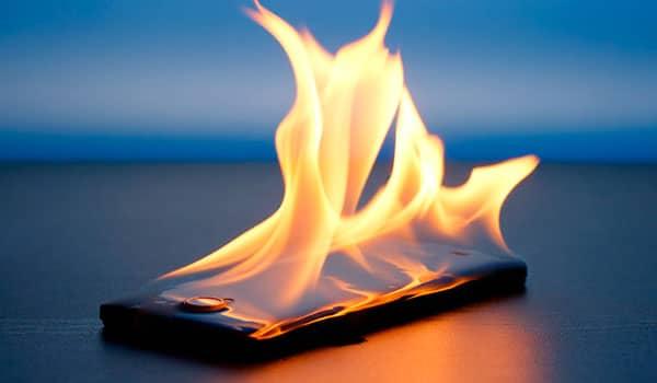 Por que se calienta mucho mi celular