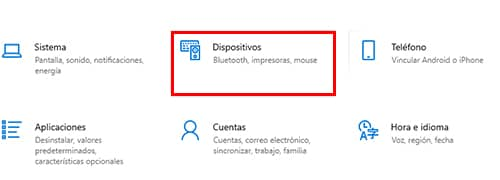activar bluetooth en windows