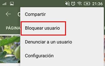 bloquear canal desde aplicacion youtube