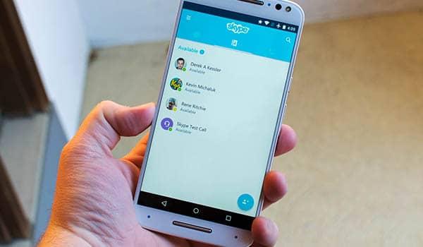 como agregar un contacto en skype