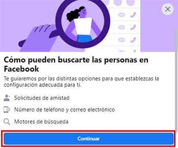 como configurar privacidad facebook