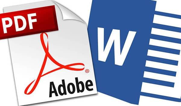 programas para pasar de PDF a Word