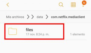 selecciona archivos