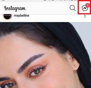 seleccionar mensajes de instagram