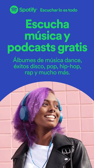 spotify escuchar musica sin internet