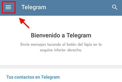 como utilizar telegram sin numero